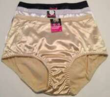 COCO SECRET LOT 3 WOMENS PANTY BRIEF UNDERWEAR SML MED LG XLG BLACK WHITE BEIGE