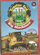 TRACTOR TED - BIG MACHINES - DVD CHILDRENS FARMING