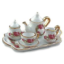 Reutter Porzellan Teetablett Romantik Tea Set Romantic Puppenstube 1:12  1.621/8
