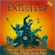 THE EXPLOITED - The Massacre  (2-LP - YELLOW) DLP