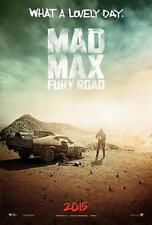 POSTER MAD MAX FURY ROAD TOM HARDY CHARLIZE THERON MAX ROCKATANKY FILM DVD #2
