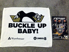 Pittsburgh Penguins 2013 Playoff RALLY TOWEL Gm2 Senators 5-17 Crosby Hat Trick