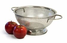 Culina 3 Quart Stainless Steel Perforated Colander with Handles - New *FREE SHIP