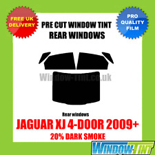 JAGUAR XJ 4-DOOR 2009+ 20% DARK REAR PRE CUT WINDOW TINT