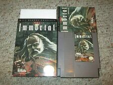 The Immortal (Nintendo Entertainment System NES, 1990) Complete in Box GOOD