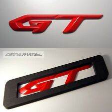 Detailpart GT 3D Rose Red Type Emblem Decal Sticker for All Cars