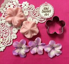 Blossom Flower Set Cookie Cutter Biscuit Pastry Fondant  Mold Mould Cake Decor