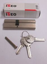 ISEO Euro Cylinder 95mm 40mm / 55mm Door Lock Nickel C/W 3 Keys UPVC PVC 5 PIN