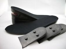 BLACK 8CM UP Air Cushion Increase Height Insole Shoe Pad Unisex