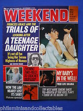 Weekend Magazine - Grace and Caroline of Monaco   29th Oct 1975