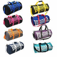 Lonsdale Bag Barrel Gym Holdall Sack Sports Fitness School Travel Duffel Boxing