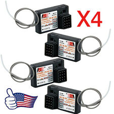 Hot 4PCS Flysky FS-GR3E AFHDS 2.4G 3CH Receiver for GT3B GT2 GT3C Transmitter @