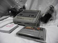Free Shipping Working Super Famicom Nintendo - Game console System Japan A186