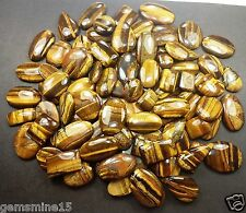 1250 CT Yellow Tiger Eye 100% Natural Awesome Quality Wholesale Lot Gems GI158
