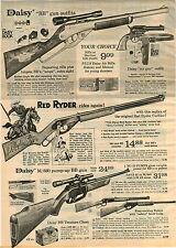1973 ADVERTISEMENT Daisy Air Rifle BB Gun m/880 Pump up Red Ryder Little Beaver