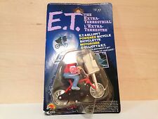 NOS Vintage 1982 E.T. & ELLIOTT on KUWAHARA BMX BICYCLE Action Toy LJN Universal