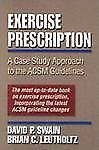 Exercise Prescription: A Case Study Approach to the Acsm Guidelines-ExLibrary
