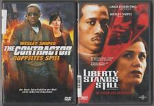 Liberty Stands Still Weslay Snipes + The Contractor Doppeltes Spiel Sammlung DVD