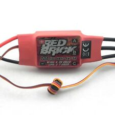 Red Brick 70A Brushless 2-7S ESC with 5V 5A UBEC for Helicopter Quadcopter B