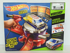 NEW! HOT WHEELS ~ AIRBRUSH AUTO DESIGNER ~MATTEL~ WITH VAN ~ FREE SHIPPING!