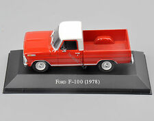 Atlas 1/43 Scale Ford F-100(1978) Type Diecast Car Truck Model Toy