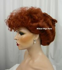 Lucy Wig .. I LOVE LUCY!!  Nice!!   Gibson Girl .. Theatre Wig or Costume *