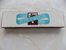 Vintage Box Koh-I-Noor Drawing Pencils-2H -6 New and 3 Sharpened