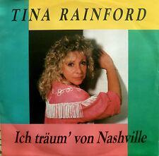 """7"""" 80s RARE VG+++ TINA RAINFORD Ich träum von Nashville"""