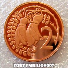 NEW ZEALAND 1979 2 CENTS TWO GOLDEN KOWHAI BLOSSOMS PROOF EX SET