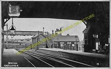 Tadcaster Railway Station Photo. Church Fenton - Newton Kyme. Harrogate Line