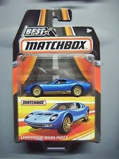 """MATCHBOX """"BEST OF"""" SERIES 2 LAMBORGHINI MIURA P400 S"""