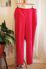 Talbots Wide Leg Pink Trousers - Plus Size, Size 18 - Small side zip - Used