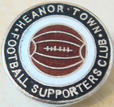 HEANOR TOWN FC Rare vintage SUPPORTERS CLUB Badge Button hole 24mm x 24mm