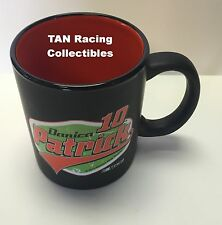 Danica Patrick Hunter Mfg 2015 #10 Black 2 Tone Coffee Mug 11oz FREE SHIP!!