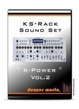 """Novation KS Rack Synthesizer """"X-Power"""" Vol.2 - 100 Sound Presets / Sound Patches"""