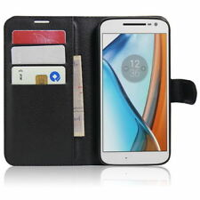 HOUSSE ETUI COQUE CUIR LUXE PORTEFEUILLE MOTOROLA MOTO G4 PLAY