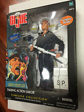 "12"" GI Joe Talking Action Sailor Shore Patrol Figure Timeless Collection JC"