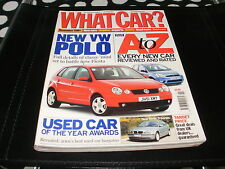 WHAT CAR ?   MAGAZINE  NOVEMBER    2001   ENGLISH MONTHLY
