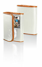 BELKIN Leather Folio Case for iPod 3G 3rd Gen NANO F8Z206-OT Persimmon / Bone