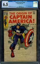 Captain America 109 CGC 6.5 - OW/W Pages