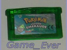 POKEMON VERSION EMERAUDE - NINTENDO GBA Game Boy Advance - NO COPY