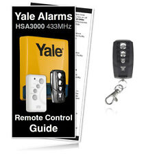 Yale HSA3060 Premium Compatible Keyfob for use with all HSA3000 Wireless Alarms
