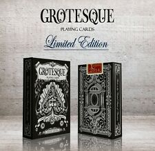 Grotesque Limited Edition Playing Cards - UnitedCardists 2014 New Sealed