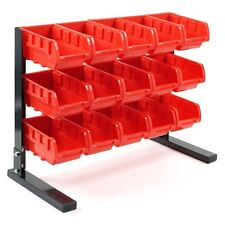 Bench Top Parts Rack - 15 pieces. Nuts Bolts Crafts