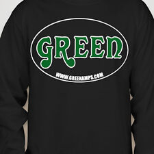 GREEN Amp Electricamp MATAMP USA Long Sleeve MEDIUM Shirts OFFICIAL MERCHANDISE