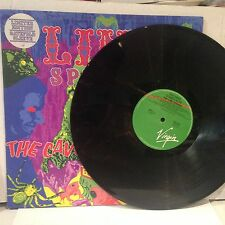 THE LIME SPIDERS - THE CAVE COMES ALIVE LP ltd ed. GTF OZ AUSSIE 80's NEO PSYCH