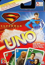 Superman Returns UNO Card Game Special Kryptonite Card