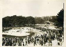 """""""PARC ZOOLOGIQUE à l'EXPOSITION COLONIALE 1931"""" Photo origin. G. DEVRED/Agce ROL"""
