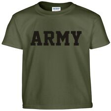 US Army Military Physical Training PT Gear Crossfit Workout Gym Tee T Shirt M