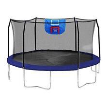 Skywalker Trampolines Jump N' Dunk Trampoline with Safety Enclosure